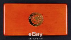 2001 Australia Lunar Year Of The Snake 3 Gold Proof Coin Set In Mint Box + Coa