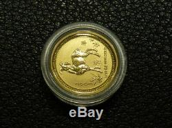 2003 1/10 oz. 9999 Gold Year of the Goat Ram Lunar Coin (Series I)