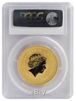 2003 1oz Gold Australian Lunar Goat Series I MS70 PCGS (#836)