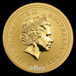 2003 Australia 1 oz Gold Lunar Goat BU (Series I) SKU #8972