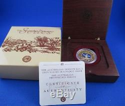 2004 $100 AUSTRALIAN NUGGET PROSPECTOR SERIES 1oz GOLD PROOF ISSUE COIN
