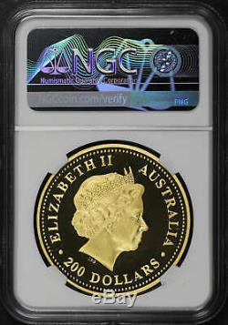 2004-P Australia $200 Gold 2 oz Kangaroo NGC PF-69 Ultra Cameo -179601