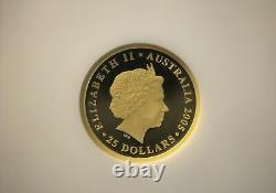 2005 Australia 150th Anniv. $25 Gold Sovereign One of First 1,000 NGC PF70 U