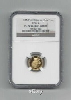 2006P $15 Gold Australian Koala NGC PF 70 Ultra Cameo