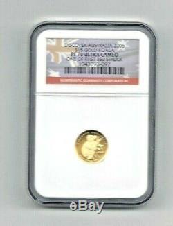 2006 $15 Gold Australian Koala NGC PF 70 Ultra Cameo