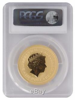 2006 1oz Gold Australian Lunar Dog Series 1 MS69 PCGS (#819)