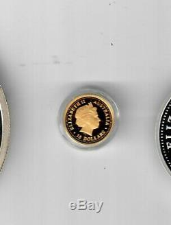 2006 Australia 15 dollars 1/10 oz Gold Crocodile coin withbox