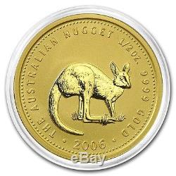 2006 Australia 1/2 oz Gold Kangaroo BU