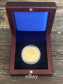 2006 Australian Gold Lunar Series Coin. 9999 Fine Gold 1 oz- Year of Dog