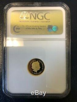 2007 Australia $15 1/10 oz. 9999 Gold Proof Great White Shark NGC PF70 UCAM