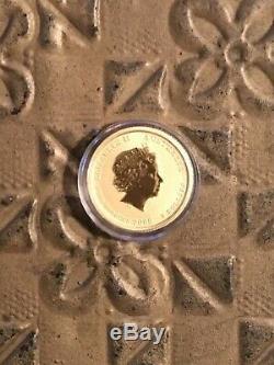 2008 1/20 oz Australia Gold Coin Mouse (BU)