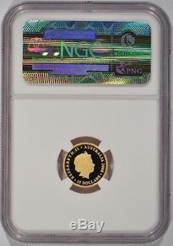 2008-P Australia 1/10th oz $15.9999 Fine Gold Koala NGC PF70 UCAM 3321625-006