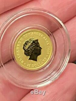 2009 1/10th oz Australian Gold Kangaroo Coin (BU)