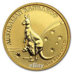 2009 1/4 oz Gold Australian Kangaroo Coin Brilliant Uncirculated SKU #43909