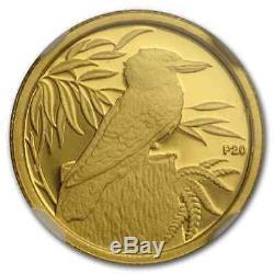 2009 Australia 1/20 oz Gold Kookaburra 10 Coin Set PF-70 NGC SKU#205196