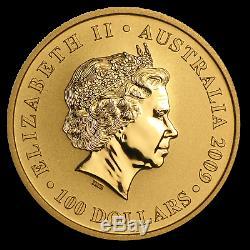 2009 Australia 1 oz Gold Kangaroo BU SKU #43911