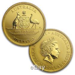 2009 Australia 2-Coin Perth Mint Sovereign MS/PR70 PCGS (FS)
