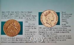 $200 1986 UNCIRCULATED AUSTRALIAN KOALA 22 CARET GOLD COIN 10gm / Diameter 24mm