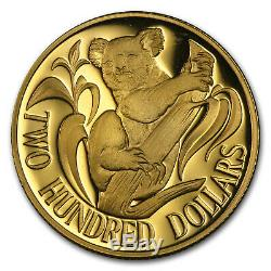 $200 Australia Gold Koala BU/Proof (Random Dates) SKU #55787