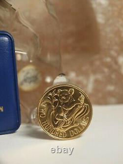 $200 Dollar Australian Gold Coin 1983 Koala 22 Carat Royal Australia Mint