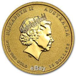 2010 1/10 oz Gold Australian Perth Mint Lunar Year of the Tiger Coin SKU#54865