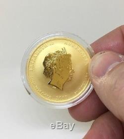 2010 Australia 1/2 oz. 9999 Gold $50 Lunar Year of the Tiger BU (Series II)