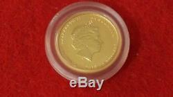 2010 Australia Lunar Tiger $5 1/20 Oz. GEM BU Sealed. 9999 Perth Mint