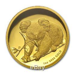 2010-P Australia 1 oz Gold Koala PR-70 PCGS (FS, High Relief) SKU #83779