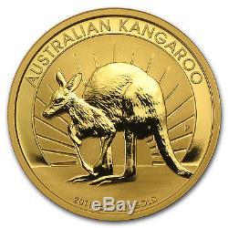 2011 1 oz Australian Gold Kangaroo Coin