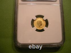 2011 Australia Gold 5 Dollars NGC MS69 Ultra Cameo