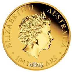 2011 Australian Kangaroo 1oz. 9999 Gold Bullion Coin The Perth Mint