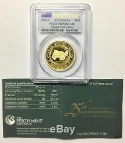 2011-P Australia $100 Gold Australian Nugget First Strike PCGS PR70DCAM