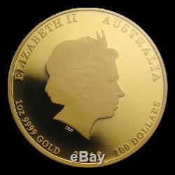 2012 1 oz Gold Lunar Year of the Dragon PR-69 PCGS (SII) SKU #86661