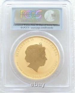 2012 Australia Series II Lunar Dragon $100 Gold 1oz Coin PCGS MS70 First Strike