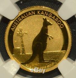 2012-p Australia $15 Gold Kangaroo Ngc Ms-70 Early Release Er 1/10trusted