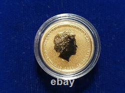 2013 $15 1/10 oz. 9999 Gold Australian War in the Pacific Memorial Coin