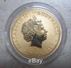2013 1/4 oz 9999 Gold Australian Kangaroo Coin
