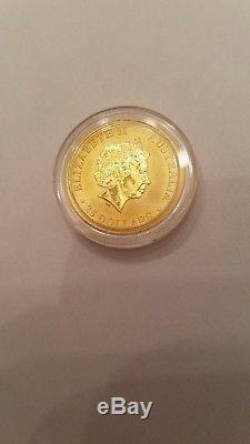 2013 1/4 oz Australian Kangaroo Gold Coin