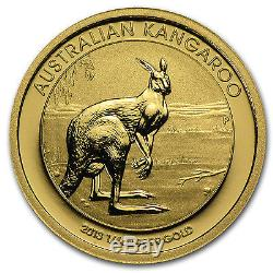 2013 1/4 oz Gold Australian Kangaroo Coin Brilliant Uncirculated SKU #71347