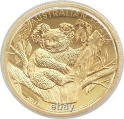 2013 Australia Koala High Relief $200 Dollar Gold Proof 2oz Coin Box Coa