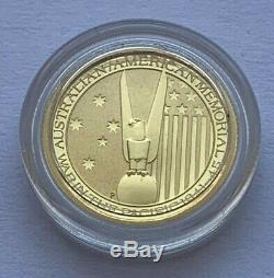 2013 Australian Gold War In The Pacific 1941-45 1/10 Oz Gold 15 Dollars Coin