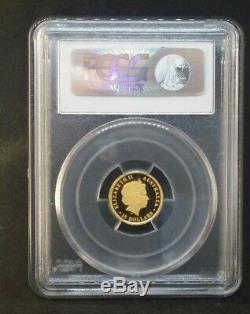 2013-P $15 PCGS PR70DCAM Discover Australia Koala 1/10 oz. 999 Fine Gold Coin