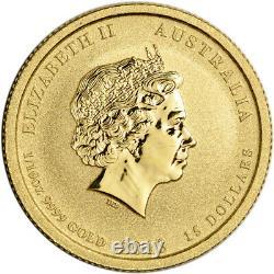 2013 P Australia Gold War in the Pacific Memorial 1/10 oz $15 BU