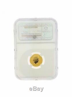 2014P NGC $15 Australia Lunar Year of the Horse Lover Coin 24k MS70 1/10 E/R