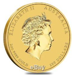 2014 1/10 oz Australian Gold Lunar Year of the Horse Coin (Series 2)
