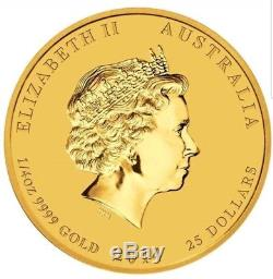 2014 1/4 oz Lunar Year of the Horse Australian Gold Coin