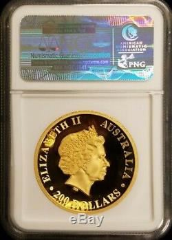 2014 2 oz Australia Proof Gold Koala Coin Perth Mint High Relief NGC PF 70 UC FS