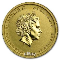 2014 Australia 1/10 oz Battle of the Coral Sea Gold Coin BU in capsule