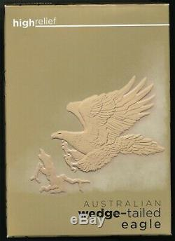 2014 Australia Wedge-Tailed Eagle 1 Oz. Gold Proof PCGS PR70DCAM Mercanti Signed