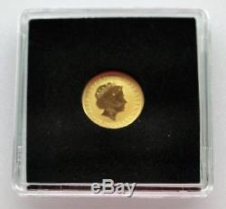2015 1/10oz (. 999) Gold Australian Nugget (Kangaroo) 15 Dollars Coin